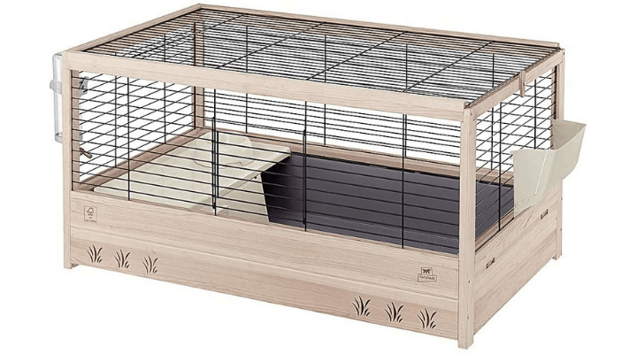 Jaula Arena 100: Mejor conejera de madera