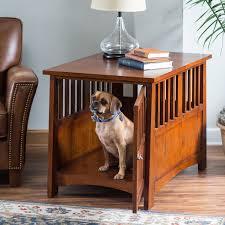 Jaula de perros de madera