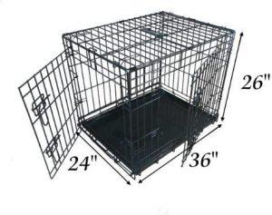 Medidas de la jaula plegable Ellie-Bo 2 puertas