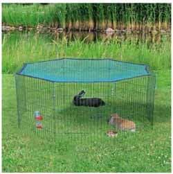 corrales para conejos